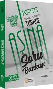 İsem Yayınları KPSS Genel Yetenek Türkçe Aşina Tamamı Çözümlü Soru Bankası