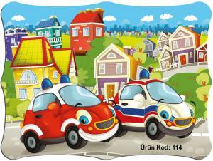 Karne Kılıfı Arabalar Temalı 10'lu Paket