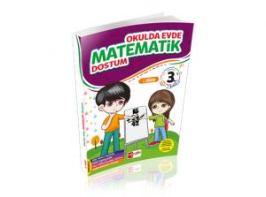Artı Eğitim 3. Sınıf Evde Okulda Matematik Dostum 1.Dönem