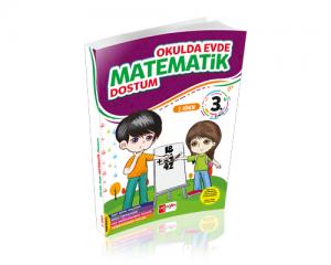 Artı Eğitim 3. Sınıf Evde Okulda Matematik Dostum 2.Dönem