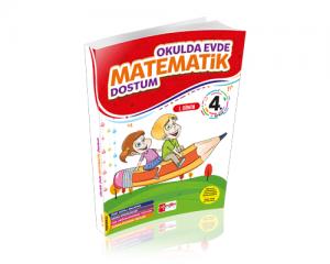 Artı Eğitim 4. Sınıf Evde Okulda Matematik Dostum 1.Dönem