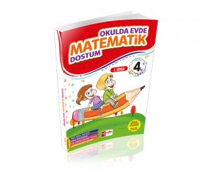Artı Eğitim 4. Sınıf Evde Okulda Matematik 2.Dönem
