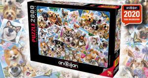 Anatolian 2000 Parça Puzzle Selfie Kolaj