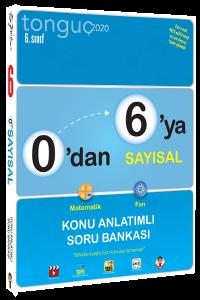 Tonguç 6. Sınıf 0'dan 6'ya Sayısal Konu Anlatımlı Soru Bankası