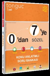 Tonguç 7. Sınıf 0'dan 7'ye Sözel Konu Anlatımlı Soru Bankası