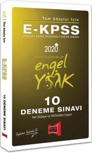 Yargı E-KPSS 10 Deneme 2020