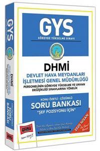 Yargı GYS DHMİ Şef Pozisyonu Konu Özetli Çözümlü Soru Bankası