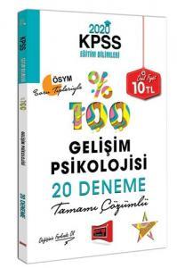 Yargı KPSS Eğitim Bilimleri Gelişim Psikolojisi 20 Deneme 2020