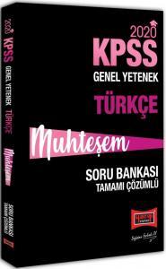 Yargı KPSS Muhteşem Türkçe Tamamı Çözümlü Soru Bankası 2020