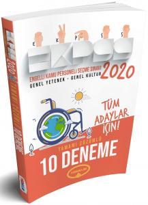 Yediiklim E-KPSS GK-GY 10 Deneme 2020