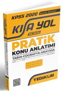 Yediiklim KPSS Genel Kültür Kısayol Serisi Pratik Konu Anlatımı 2020