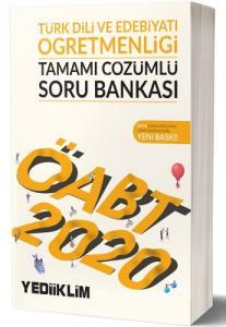 Yediiklim KPSS ÖABT Türk Dil ve Edebiyatı Tamamı Çözümlü Soru Bankası 2020