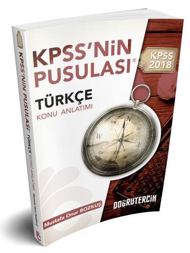 2018 KPSS'nin Pusulası Türkçe Konu Anlatımı Doğru Tercih Yayınları