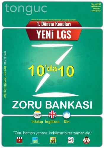 Tonguç Akademi LGS1.Dönem 10'da 10 Zoru Bankası