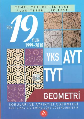 A Yayınları TYT AYT Geometri Çıkmış Sorular