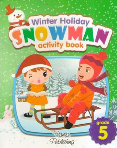 Bambu 5 Grade Snowman Activity Book
