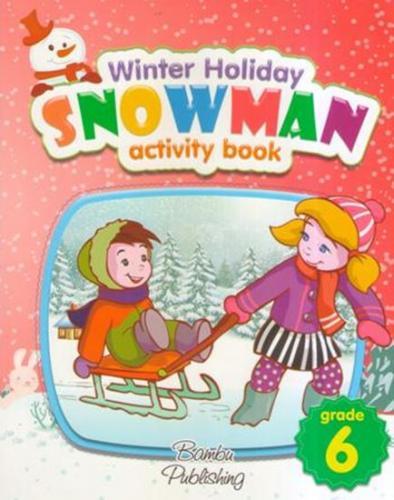 Bambu 6 Grade Snowman Activity Book