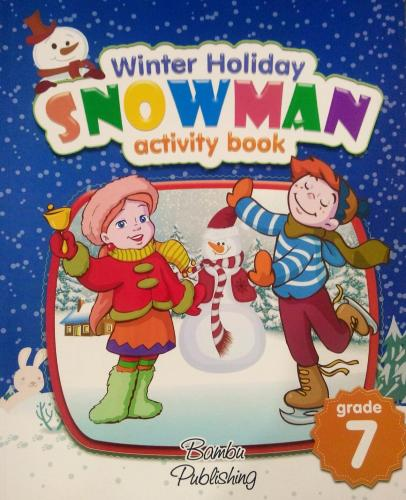 Bambu 7 Grade Snowman Activity Book