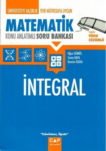 Çap Matematik İntegral Konu Anlatımlı Soru Bankası %15 indirimli