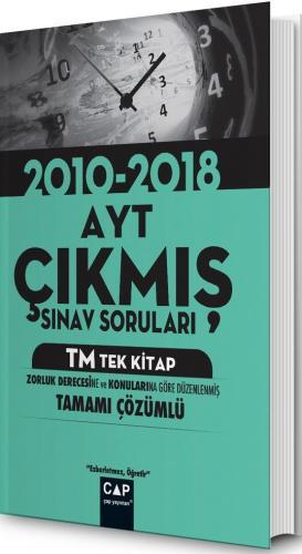 Çap Yayınları AYT TM Tek Kitap Çıkmış Sınav Soruları