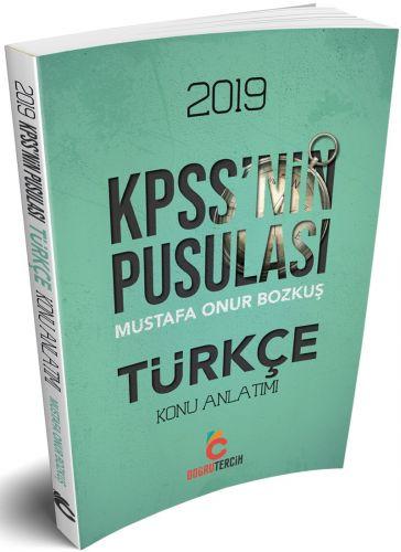 Doğru Tercih Yayınları2019 KPSS'nin Pusulası Türkçe Konu Anlatımlı