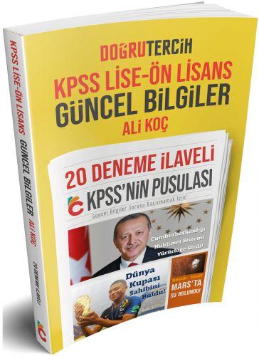 Doğru Tercih Yayınları KPSS Lise-Önlisans Güncel Bilgiler