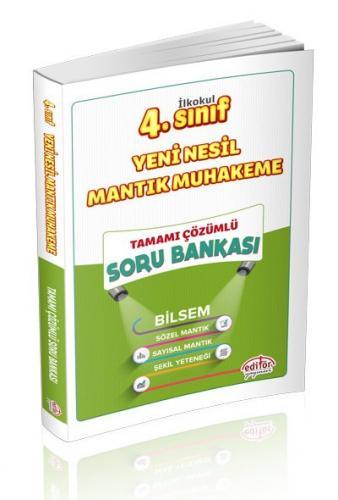 Editör 4. Sınıf Mantık Muhakeme Soru Bankası