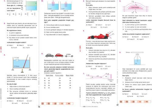 Hız ve Renk Yayınları TYT Fizik Soru Bankası - %15 indirimli  - Hız ve