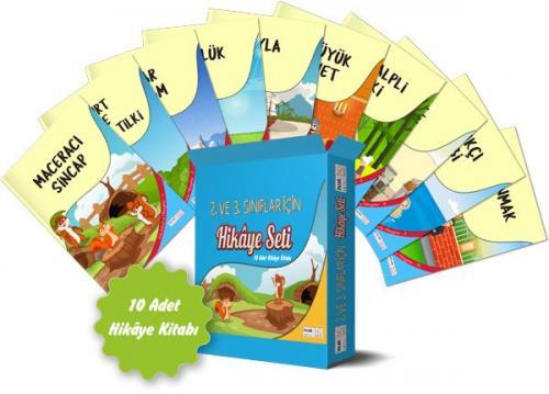 İncek Serisi 2 ve 3. Sınıflar İçin Hikaye Seti