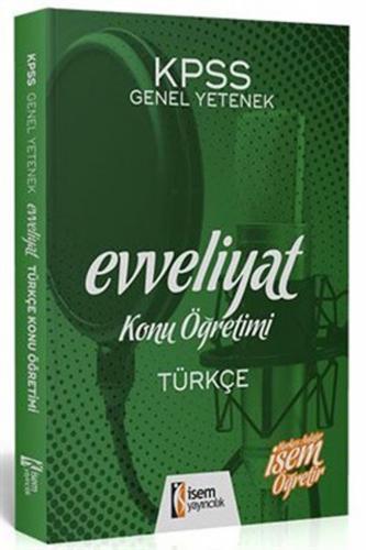 İsem KPSS Evveliyat Türkçe Konu Öğretimi 2020