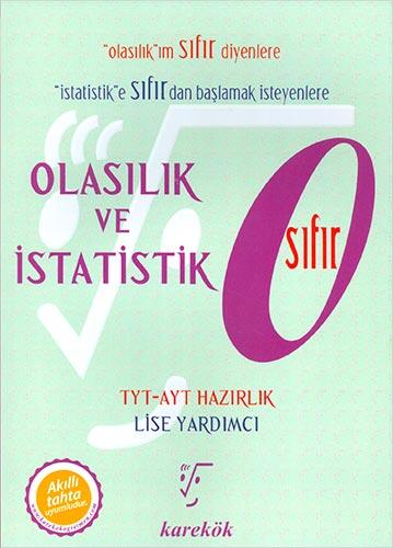Karekök Yayınları Olasılık ve İstatistik Sıfır