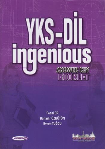 Kurmay YKS DİL Ingenious 9 Kitap Set