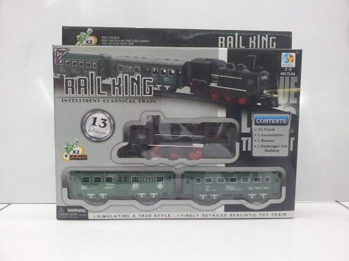 Rail King Raylı Tren Seti  - Göktaş  - Oyun Hobi - Oyuncak