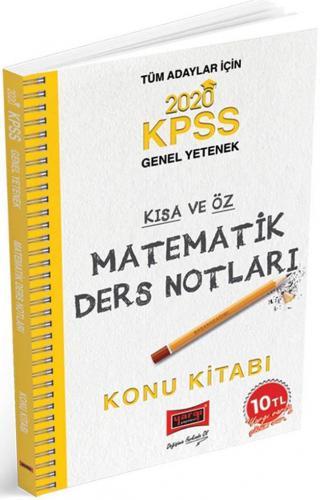 Yargı KPSS Matematik Kısa ve Öz Ders Notları 2020
