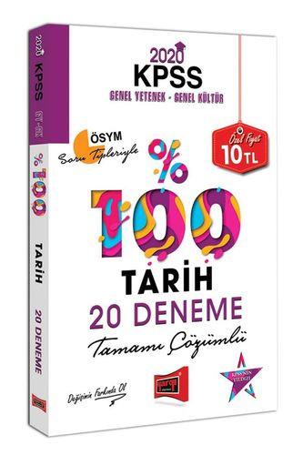 Yargı KPSS Tarih Tamamı Çözümlü 20 Deneme 2020