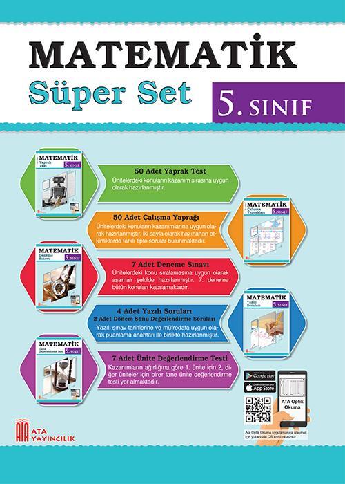 Ata 5 Sinif Matematik Super Set Ata Yayincilik Ata Yayincilik