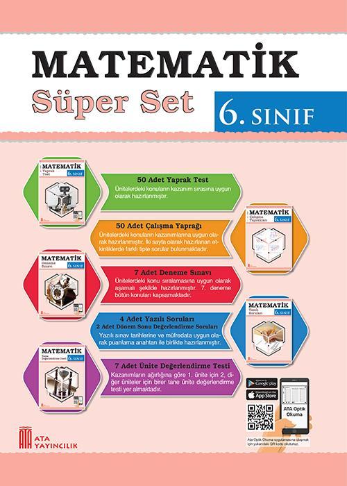 Ata 6 Sinif Matematik Super Set Ata Yayincilik Ata Yayincilik