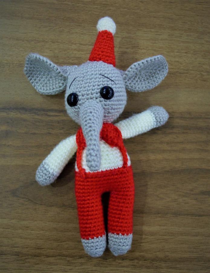 Amigurumi Crochet Uçan Fil Dumbo Free Pattern Yapılışı | 900x695