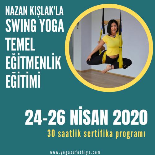 Swing Yoga Temel Eğitmenlik Eğitimi