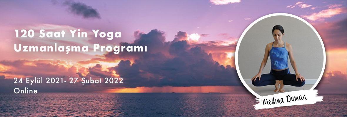Medina Duman İle Online 120 Saat Yin Yoga Uzmanlaşma Programı
