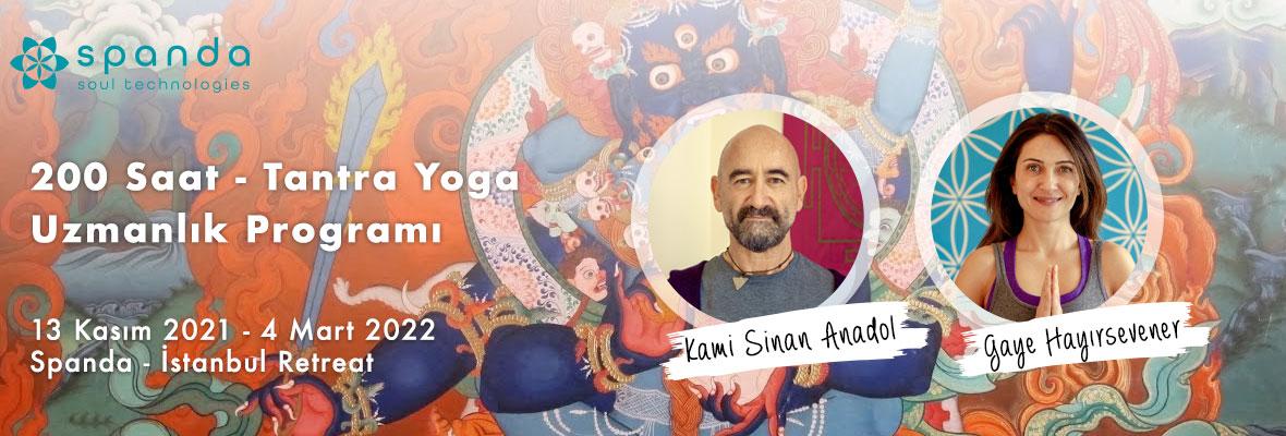 200 Saat - Tantra Yoga Uzmanlık Programı