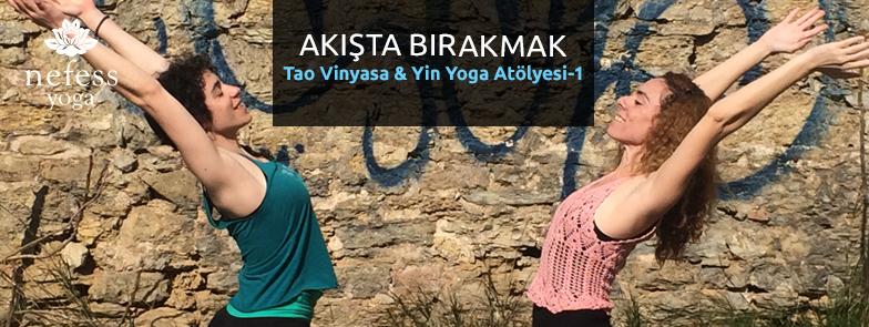 Tao Vinyasa & Yin Yoga Atölyesi İle Akışta Bırakmak
