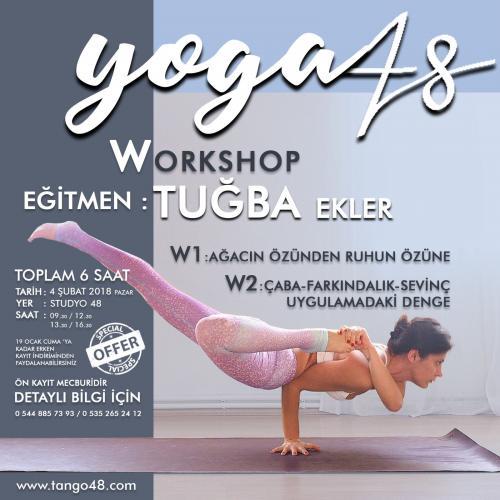 Tuğba Ekler ile Ağacın Özünden Ruhun Özüne Yoga Workshop - Bodrum