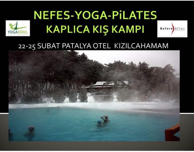 Nefes, Yoga, Pilates, Acroyoga Kaplıca Kış Kampı
