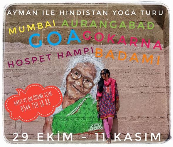 Ayman ile Hindistan Yoga Turu