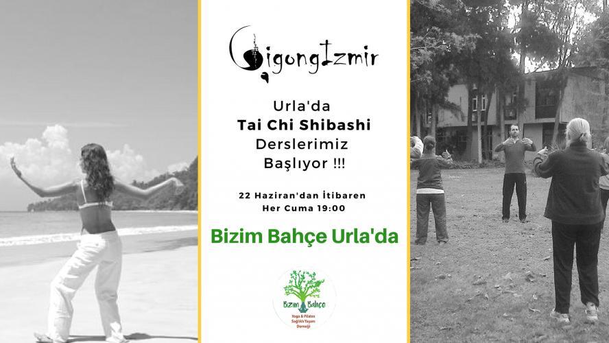Bizim Bahçe Urla'da Tai Chi Shibashi Derslerimiz Başlıyor!