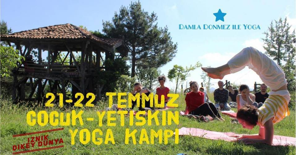 Çocuk - Yetişkin Yoga Kampı - İznik