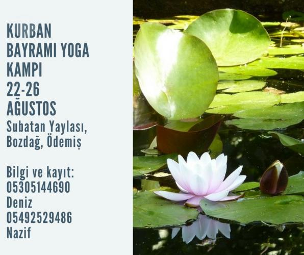Kurban Bayramı Yoga Kampı