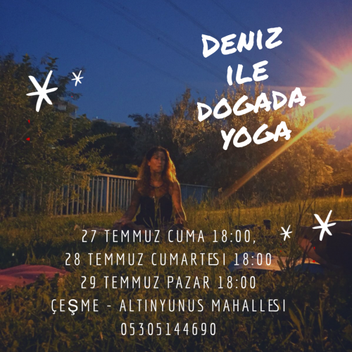Çimlerde Yoga - İzmir