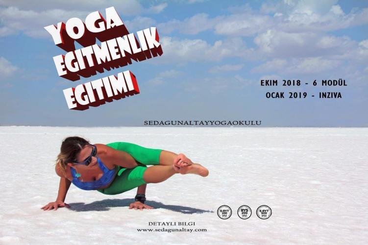 200 saatlik Yoga Alliance Onayli Egitmenlik Egitim